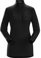 Arc'teryx Women's Satoro AR Zip Neck Shirt LS