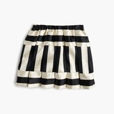J.Crew Girls' directional stripe skirt