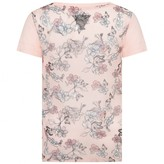 GUESS GuessPeach Cassette Print Top With Floral Back