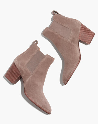Madewell The Regan Boot in Suede