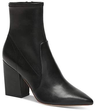 Loeffler Randall Women's Isla Patent Leather Block-Heel Booties