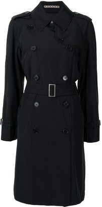 Burberry Pre-Owned Belted Double-Breasted Trench Coat