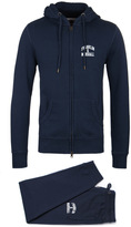 Franklin & Marshall Navy Tuta Fleece Uni Jersey Tracksuit