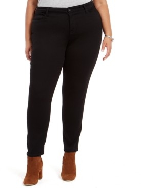 Style&Co. Style & Co Plus Size Embellished-Pocket Skinny Jeans, Created For Macy's