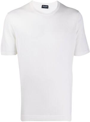 Drumohr Frost short-sleeve T-shirt