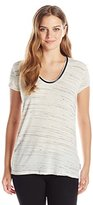 Calvin Klein Jeans Women's S/Spacedye Downtown Tee