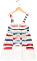 Stella McCartney Girls' Striped Linen-Blend Dress