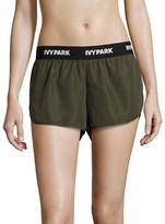 Ivy Park Logo Woven Running Shorts