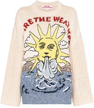 Stella McCartney We Are The Weather knitted jumper