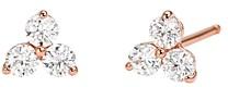 Michael Kors Trio Stud Earrings