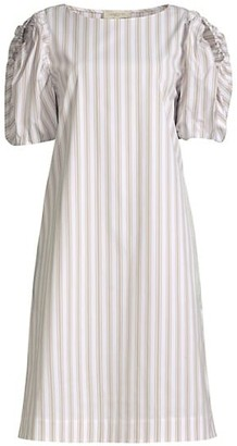 Lafayette 148 New York Hattie Pencil Striped Dress