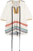 Sonia Rykiel Embroidered Gauze Tunic - White
