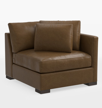 Rejuvenation Wrenton Classic Leather Sectional Right Arm Chair