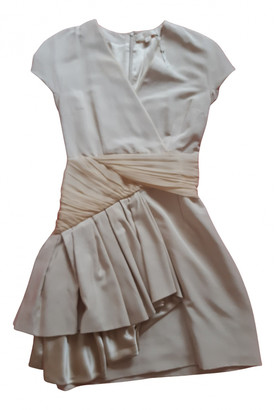 Erin Fetherston Beige Synthetic Dresses