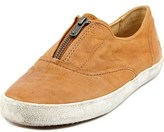 Frye Dylan Men Round Toe Leather Brown Sneakers.