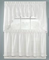 """CHF CLOSEOUT! Peri Crochet 58"""" x 36"""" Cafe Curtain Pair"""