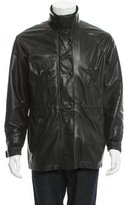 Loro Piana Cashmere-Lined Leather Jacket