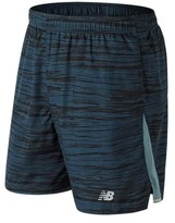 "New Balance Men's MS73919 7"" Graphic Woven Run Short"