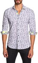 Jared Lang Floral Paisley Sportshirt