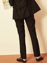 Blank Tailored Pants-bk/gy