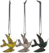 Joanna Buchanan Vintage Embellished Bird Decorations (Set of 3)