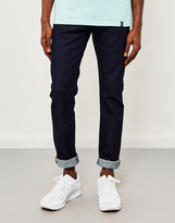 Edwin ED-80, Slim Tapered, CS Night Blue Jeans, Rinsed