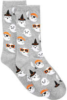 Hot Sox Women's Cute Ghost Socks