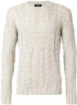 A.P.C. cable knit jumper