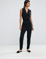 Selected Wrap Jumpsuit