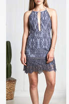 Saylor Blue Lace Dress