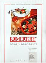 "Romertopf Clay Roaster ""International Recipes"" Cookbook"