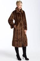 Du Monde Faux Mink Fur Coat