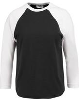 RE/DONE Baseball Two-Tone Cotton-Jersey T-Shirt