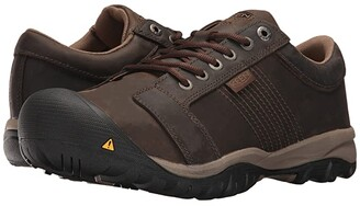 Keen La Conner AT ESD (Cascade Brown) Men's Work Boots