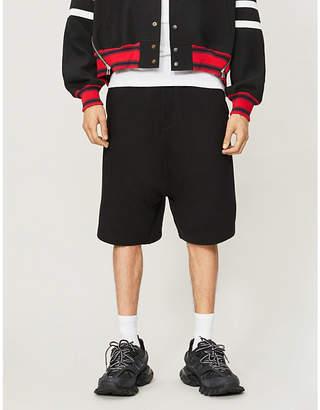 McQ Logo regular-fit cotton-jersey shorts