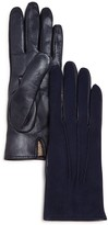 Bloomingdale's Cashmere Lined Suede Tech Gloves