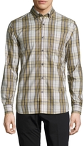 Victorinox Men's Cotton Otten Checkered Sportshirt