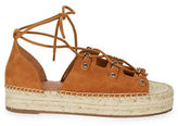 Marc Fisher Vally Espadrille Lace-Up Sandals