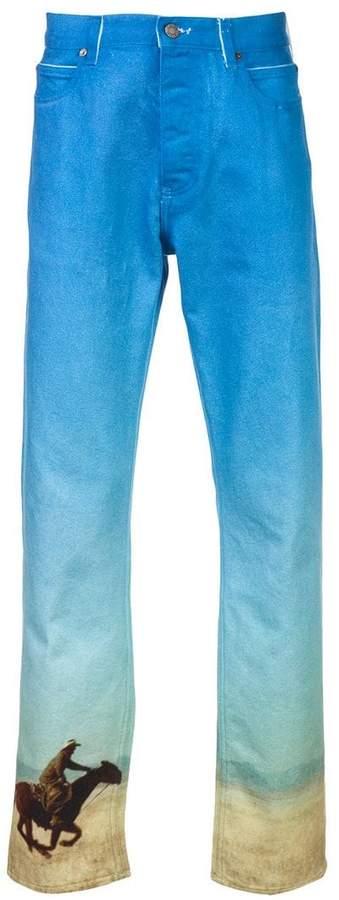 Calvin Klein western scene jeans