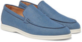 Loro Piana Summer Walk Linen Loafers