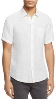 Zachary Prell Kaplan Linen Regular Fit Button-Down Shirt