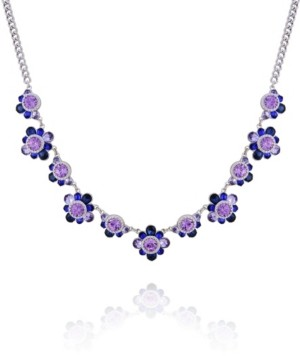 T Tahari Women's Winter Bloom Statement Necklace