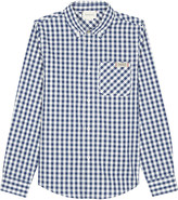 Gucci Gingham-print cotton long-sleeved shirt 4-12 years