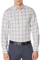 Perry Ellis Heather Check Pattern Shirt