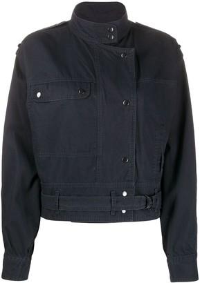 Etoile Isabel Marant Belted Cropped Jacket