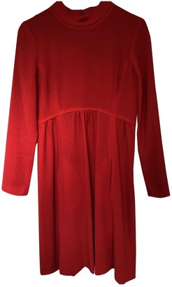 Goat Red Wool Dress for Women