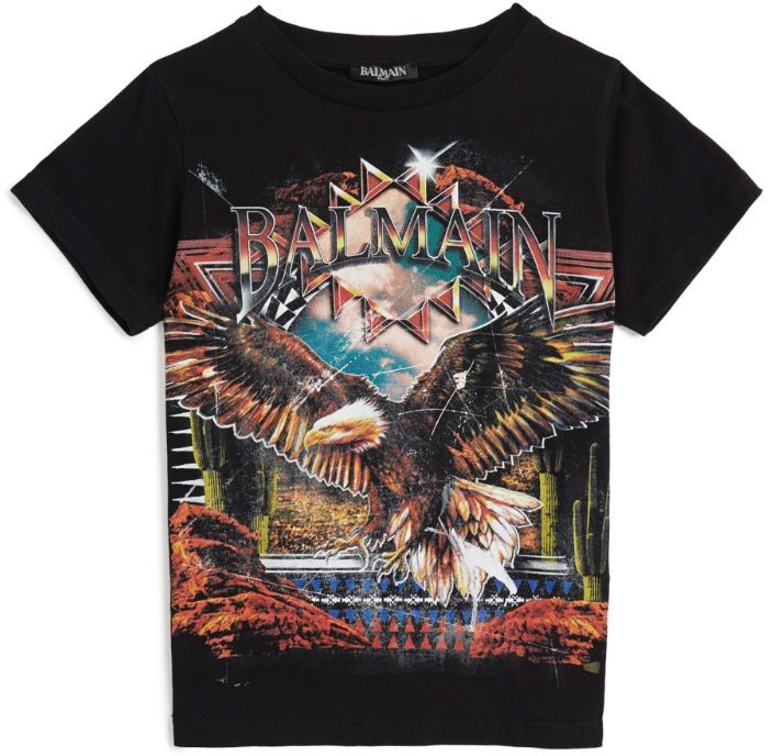 Balmain Kids Graphic T-Shirt