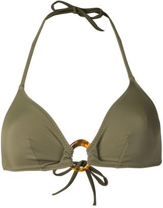 Solid & Striped Sadie halterneck bikini top