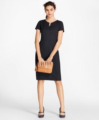 Brooks Brothers Wool Sheath Dress