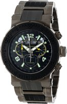Invicta Men's 6782 Reserve Collection Chronograph Gunmetal Ion-Plated Stainless Steel Watch